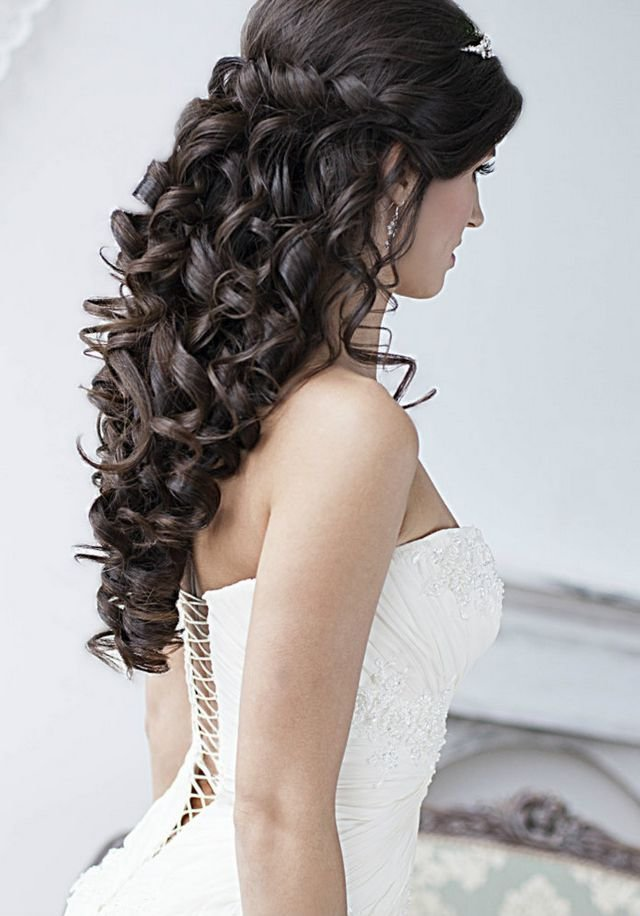 The Best 22 Most Stylish Wedding Hairstyles For Long Hair Pictures