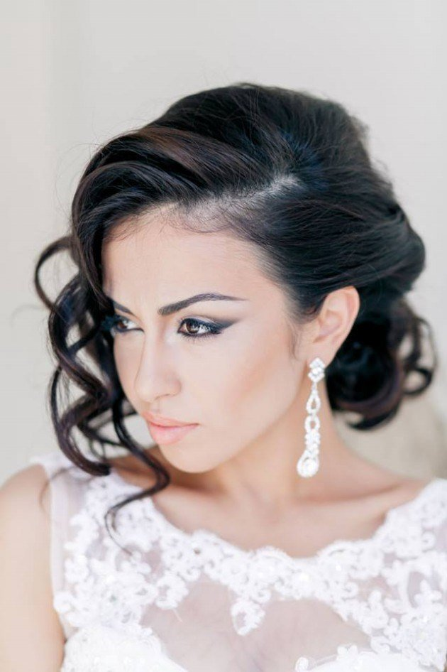 The Best Stylish Bridal Wedding Hairstyle 2014 2015 For Brides And Pictures