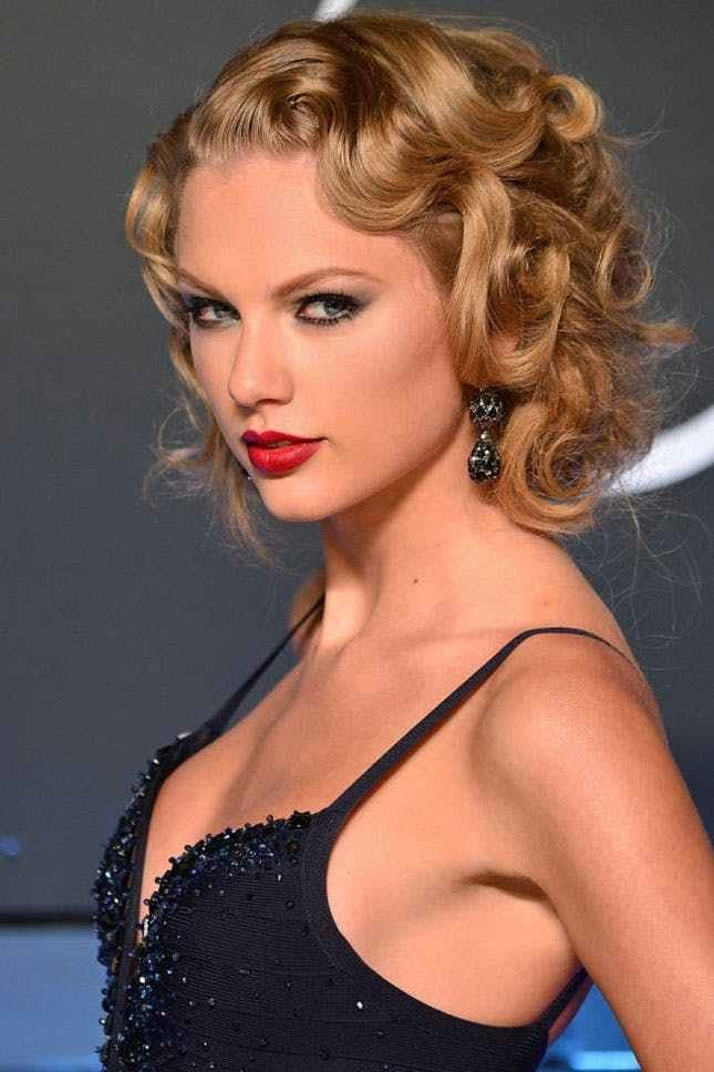 The Best 22 Of Taylor Swift's Best Curly Straight Short Pictures