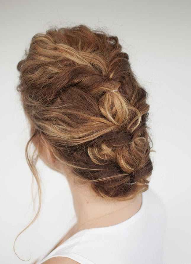 The Best 16 Easy Updos For All Hair Types Brit Co Pictures