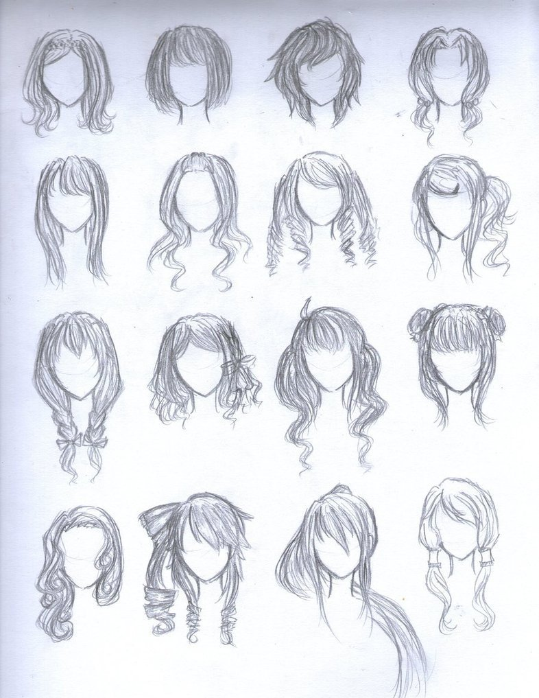 The Best Anime Hairstyles Female Trends Hairstyles Pictures