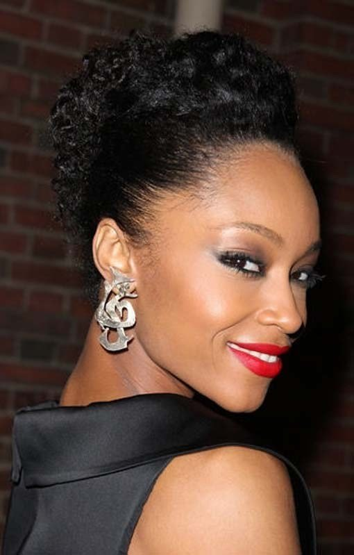The Best Updo For Short Black Hair Pictures