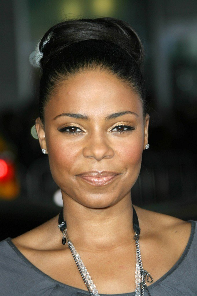 The Best Sanaa Lathan High Updo Hairstyle Thirstyroots Com Black Pictures