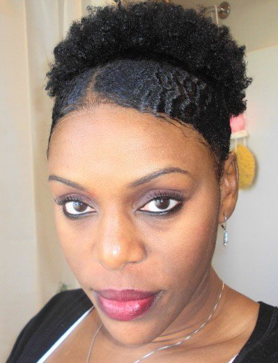 The Best Natural Afro Puff Ponytail Hairstyle Thirstyroots Com Pictures