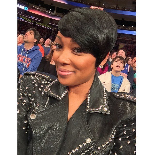 The Best Monica Brown Haircut 2014 Pictures