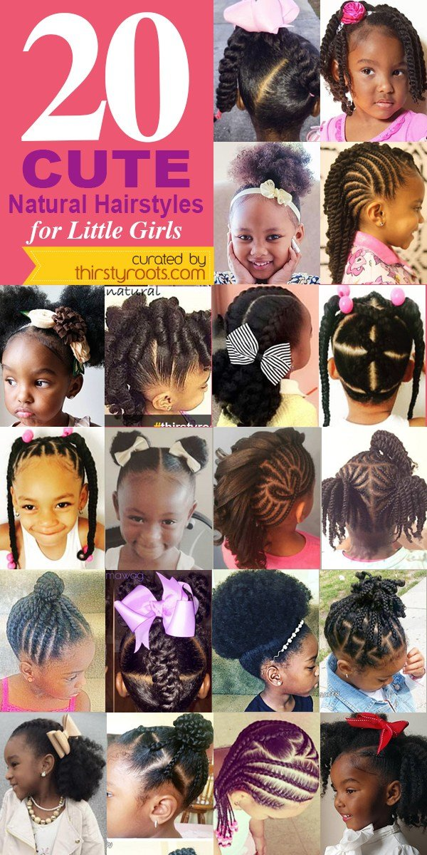 The Best 20 Cute Natural Hairstyles For Little Girls Pictures