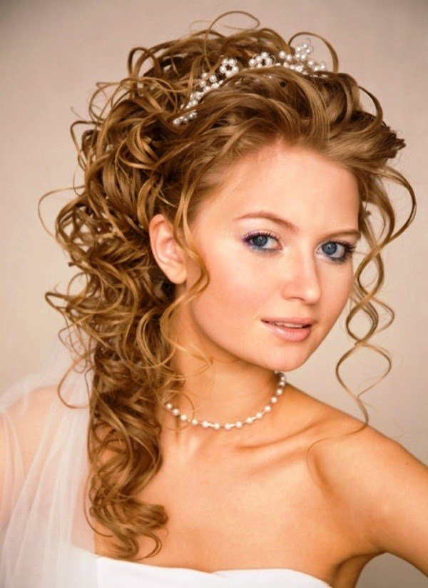 The Best 11 Awesome And Romantic Curly Wedding Hairstyles Awesome 11 Pictures