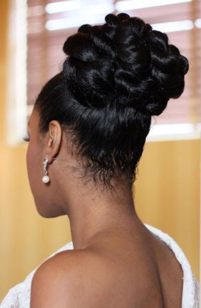 The Best Black Bridal Hairstyles For Long Hair African American Hairstyles Trend For Black Women And Men Pictures