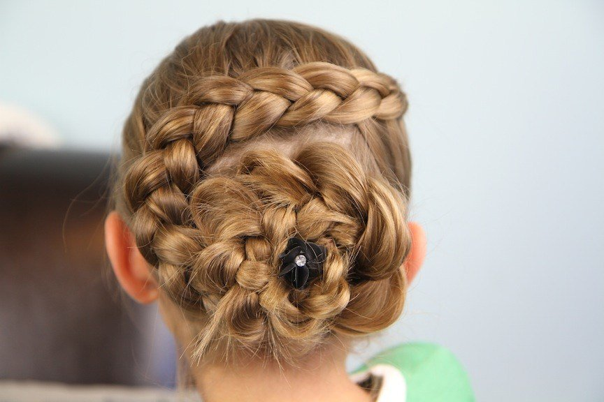 The Best Dutch Flower Braid Updo Hairstyles Cute Girls Hairstyles Pictures