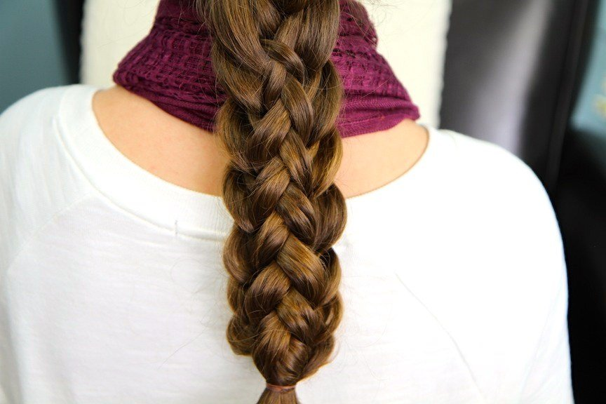 The Best Stacked Braids Cute Braided Hairstyles Cute Girls Pictures