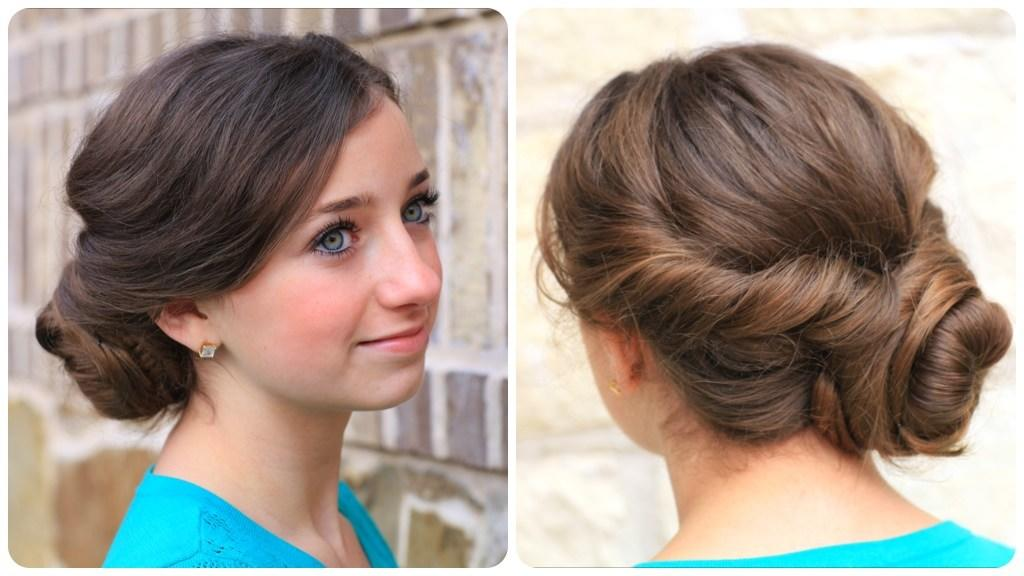 The Best Easy Twist Updo Prom Hairstyles Cute Girls Hairstyles Pictures
