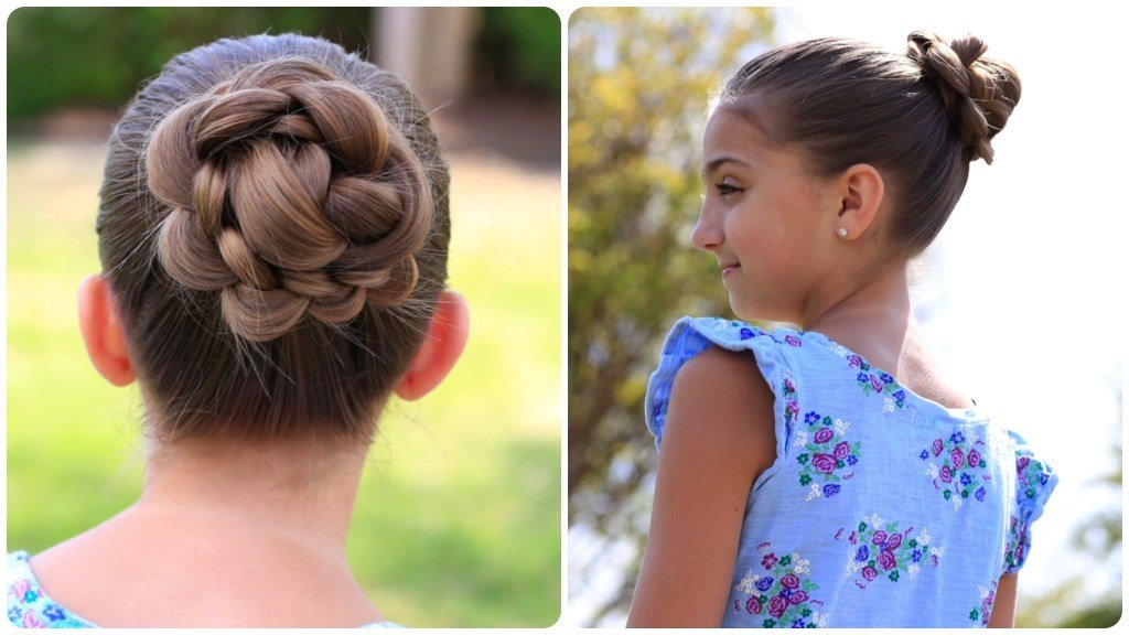 The Best How To Create A 3D Flower Braid Cute Updos Cute Girls Pictures