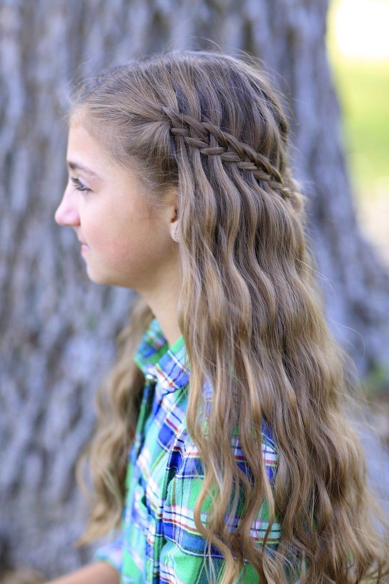 The Best Scissor Waterfall Combo Latest Hairstyles Cute Girls Pictures