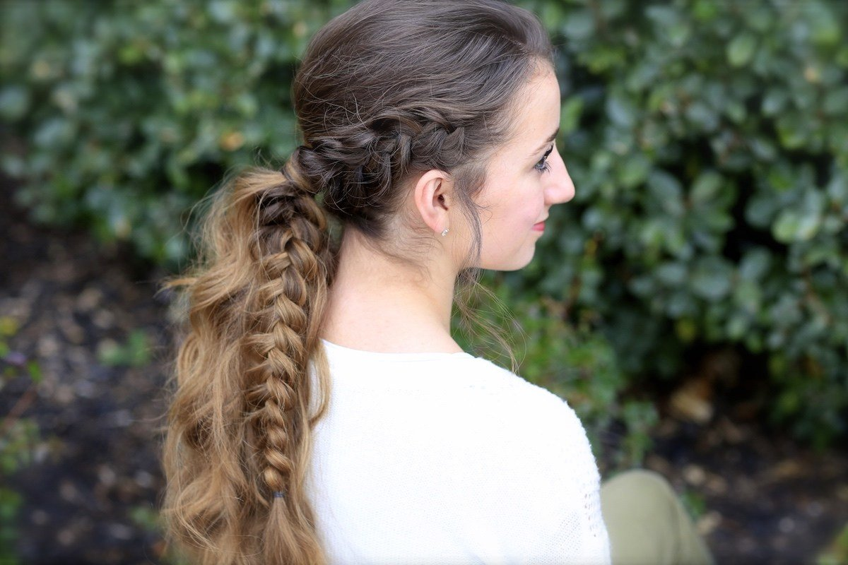 The Best The Viking Braid Ponytail Hairstyles For Sports Cute Pictures