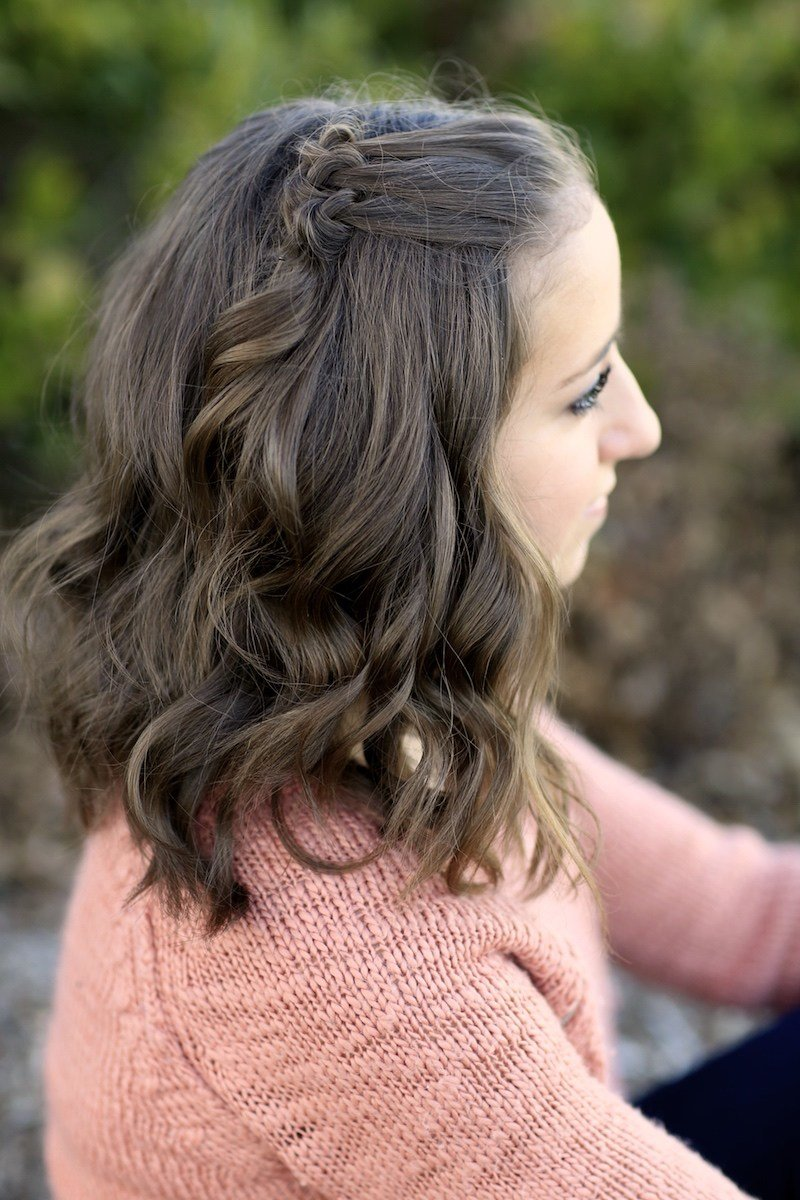The Best Triple Knot Accents Short Hairstyles Cute Girls Hairstyles Pictures