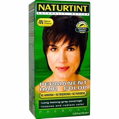 The Best Naturtint Permanent Hair Color 4N Natural Chestnut 5 28 Fl Oz 150 Ml Iherb Com Pictures