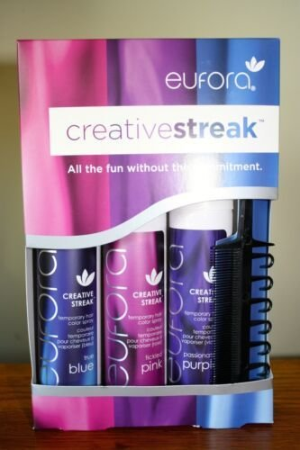 The Best Eufora Creative Streak Temporary Hair Color Pink Blue Pictures
