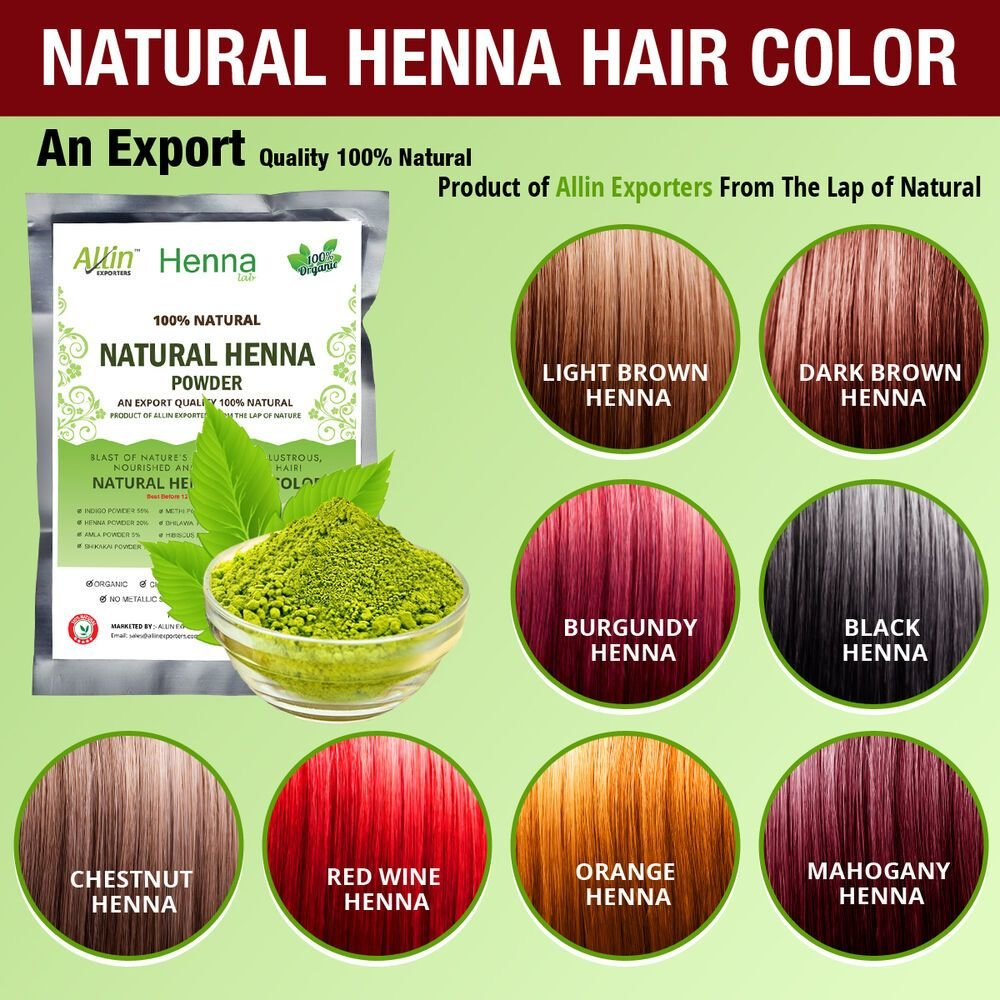 The Best Organic Henna Hair Dye Color 60 Grams For Men Women 100 Pictures