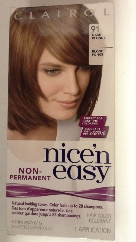 The Best 3 Clairol Nice N Easy 91 Dark Blonde Non Permanent Pictures
