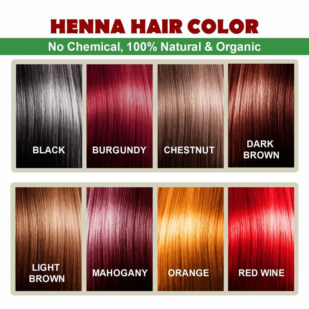 The Best Henna Hair Color 100 Organic And Natural Way Of Coloring Hair Ebay Pictures