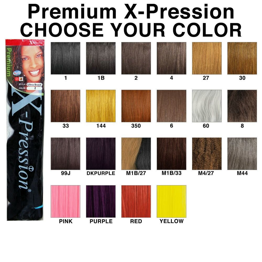 The Best Premium X Pression Ultra Braid 82 Synthetic Braiding Hair Pictures