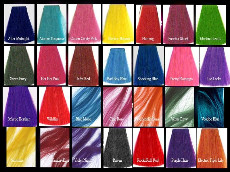 The Best Manic Panic Classic Semi Permanent Vegan Hair Dye Color Pictures