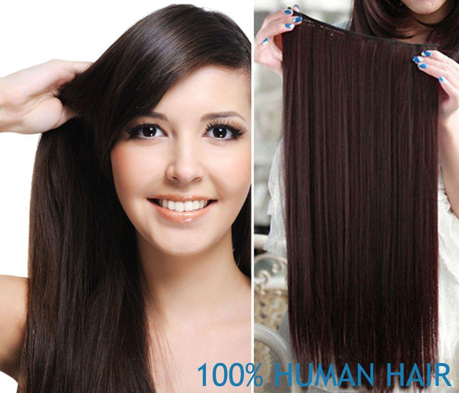 The Best 140G Thick One Piece Clip In Remy Human Hair Extensions Pictures