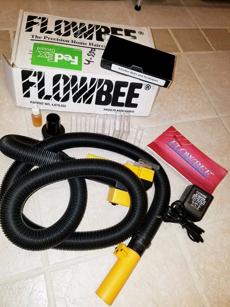 The Best Flowbee Precision Home Haircutting System Original Box 4D61460010 Ebay Pictures