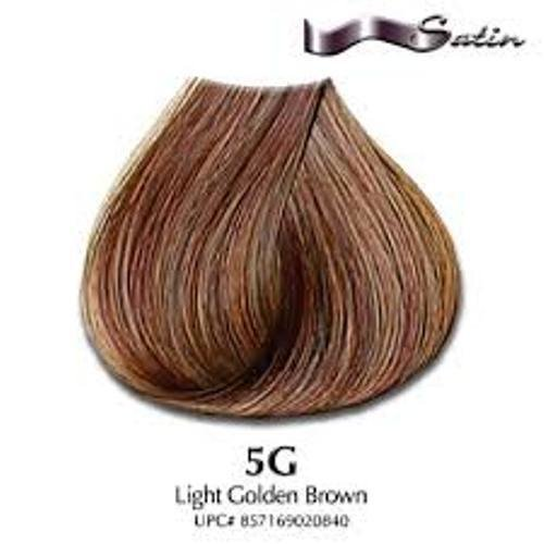 The Best Satin Haircolor Dye 3Oz Light Golden Brown 5G Ebay Pictures
