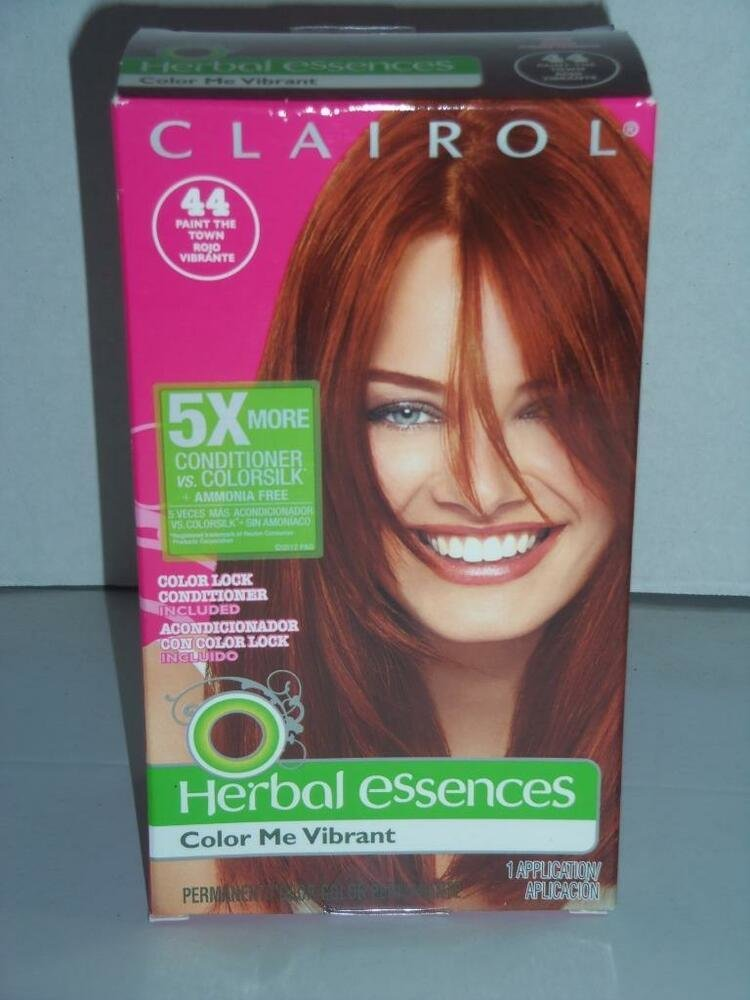 The Best Herbal Essences Hair Color Me Vibrant 44 Deep Red Paint Pictures