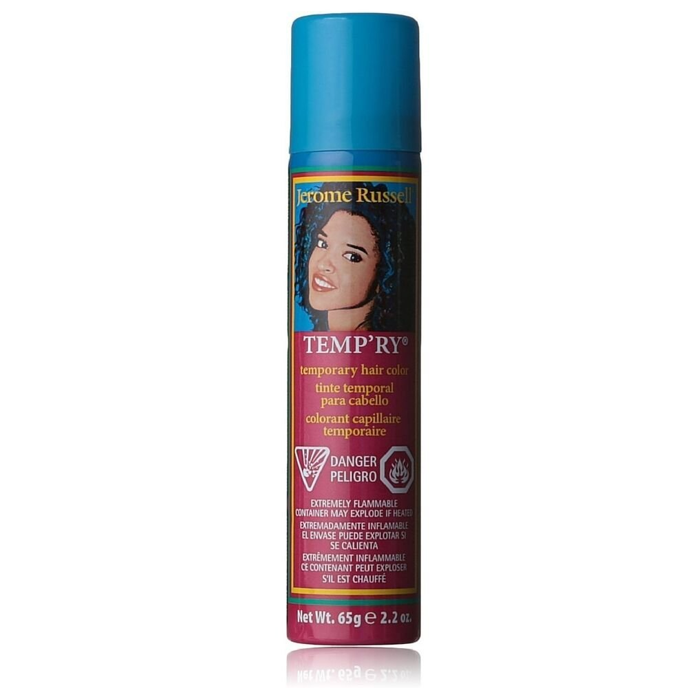The Best Jerome Russell Temporary Hair Color Spray Blue 2 2 Oz Ebay Pictures