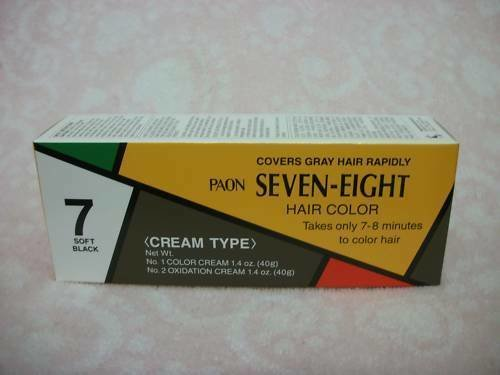 The Best 12 Paon Seven Eight Creamy Type Hair Color Soft Black 7 Pictures