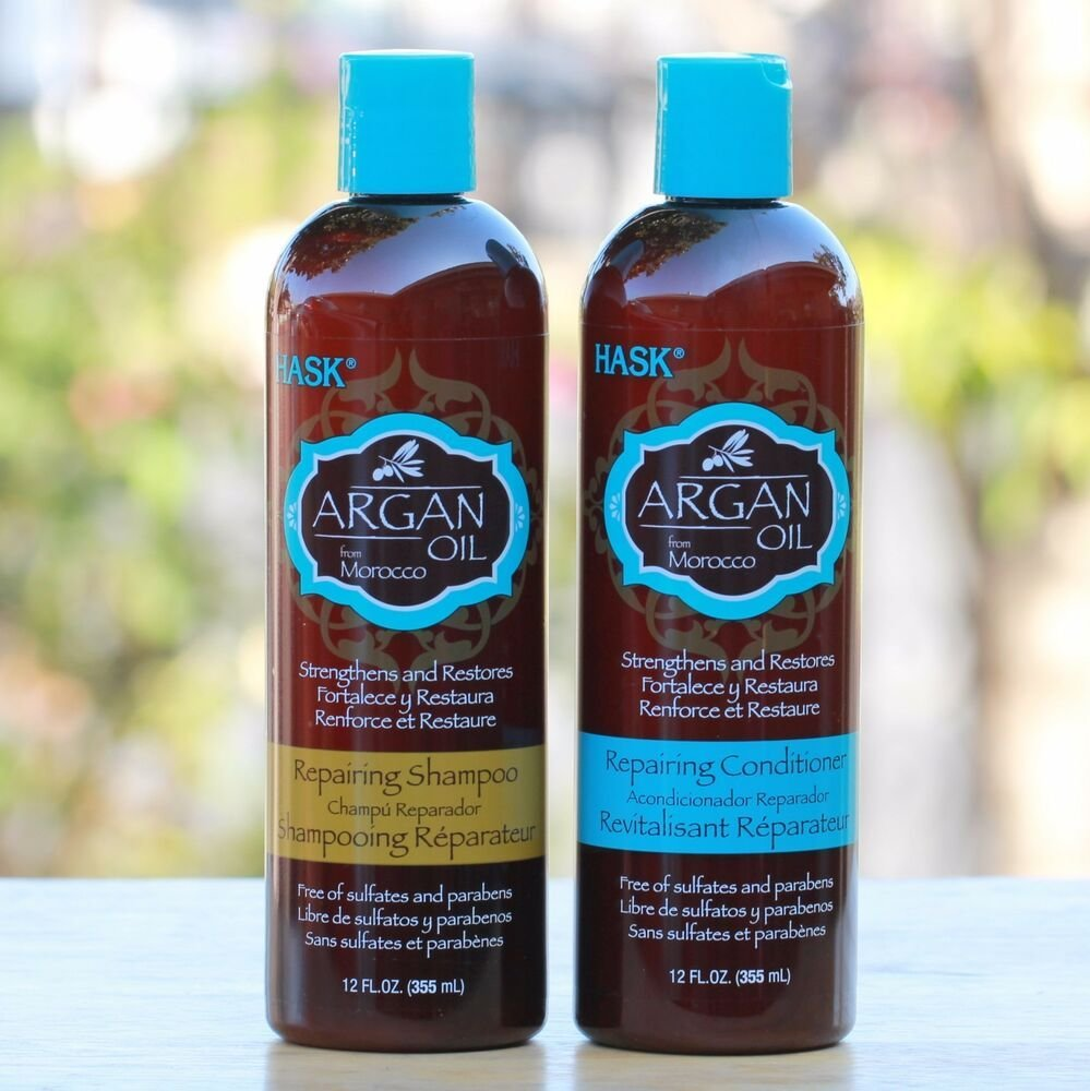 The Best Hask Argan Oil Shampoo Conditioner For Dry Damaged Or Pictures