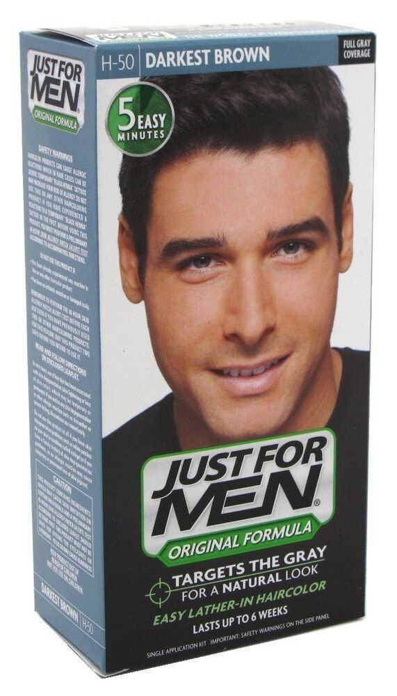 The Best 3 Pack Just For Men Shampoo In H 50 Haircolor Darkest Pictures