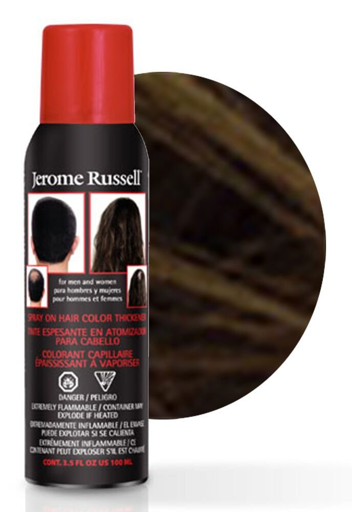 The Best Jerome Russell Spray On Hair Color Thickener 100Ml Dark Pictures