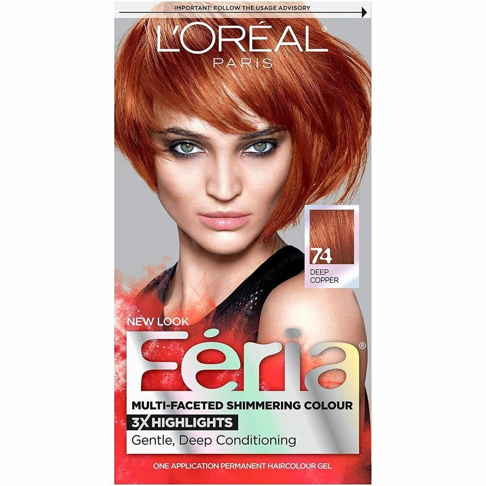 The Best Feria Hair Color 74 Deep Copper Packaging May Vary Ebay Pictures