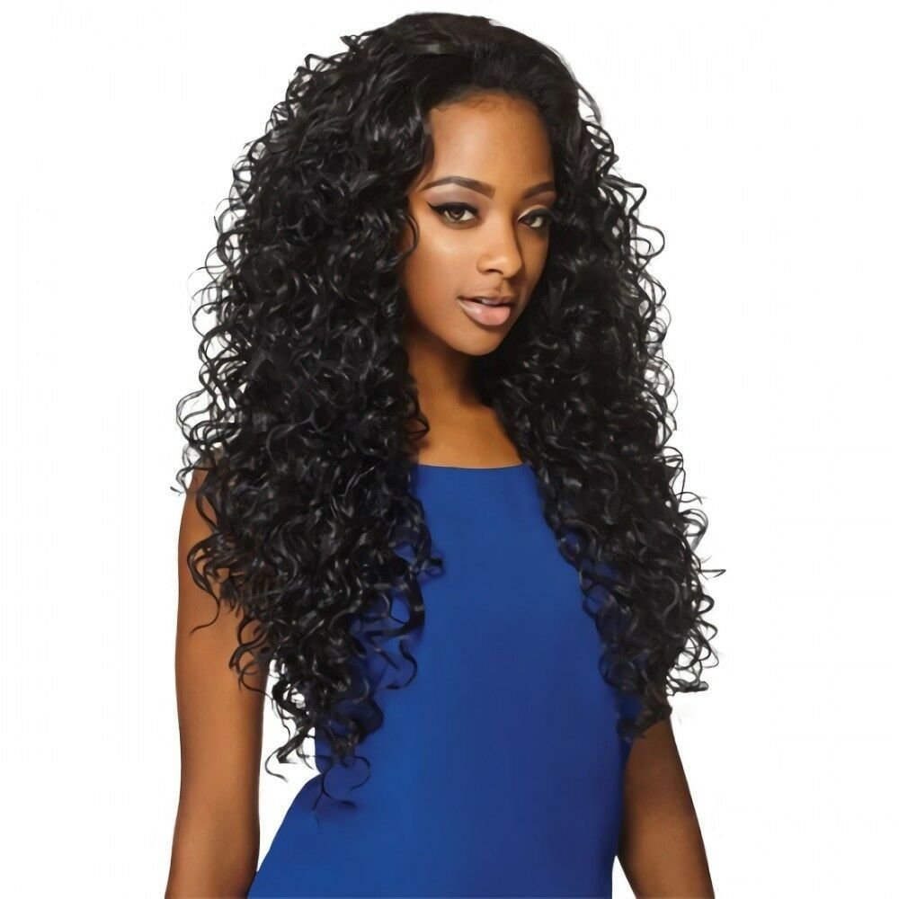 The Best Amber 26 Outre Synthetic Quick Weave Half Wig Long Pictures