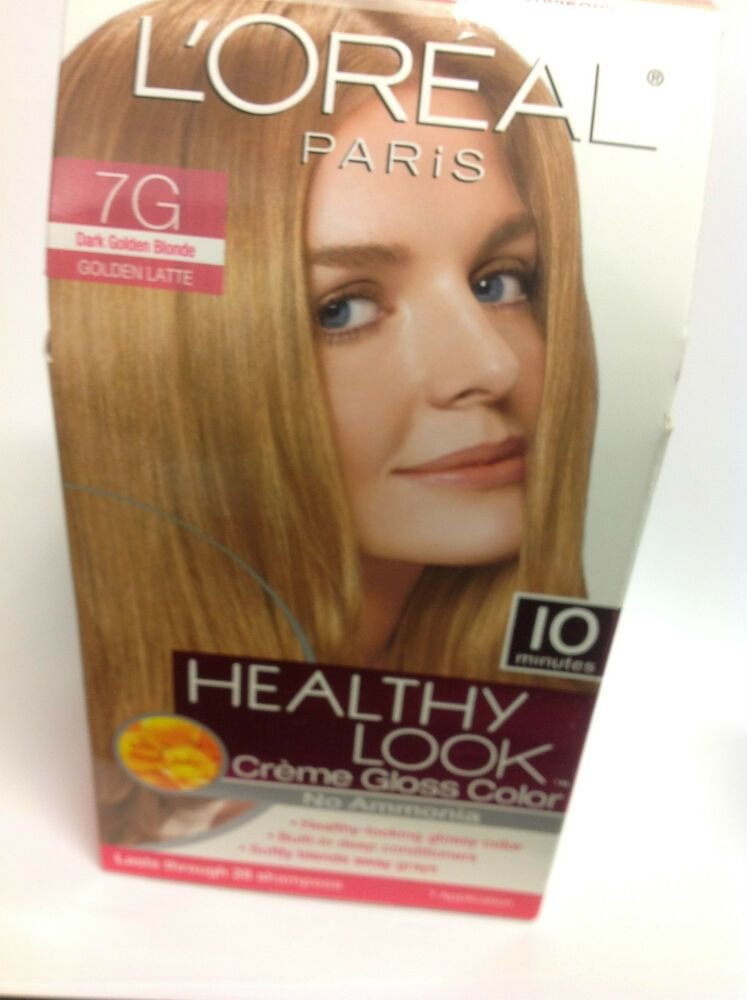 The Best L Oreal Healthy Look Creme Gloss Color Dark Golden Blonde Pictures