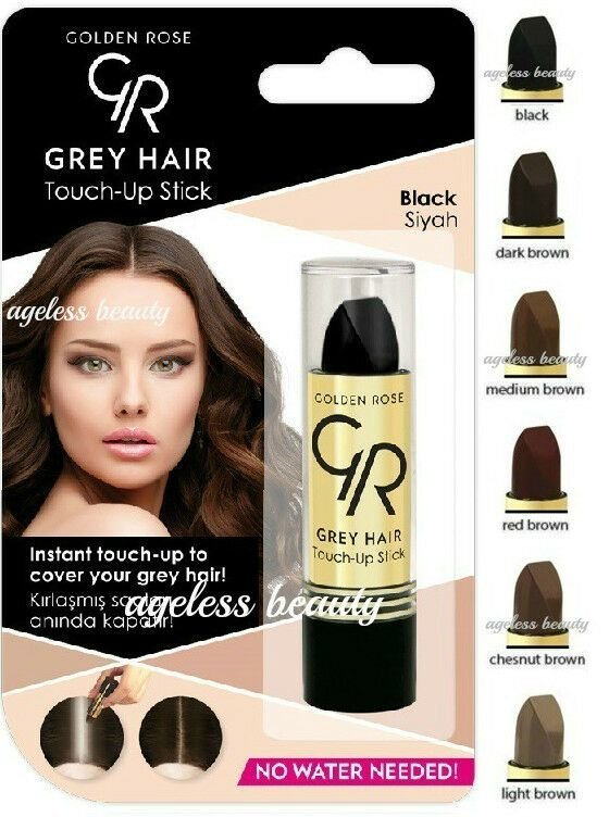 The Best Gray Hair Touch Up Color Stick Grey Roots Cover Black Red Pictures