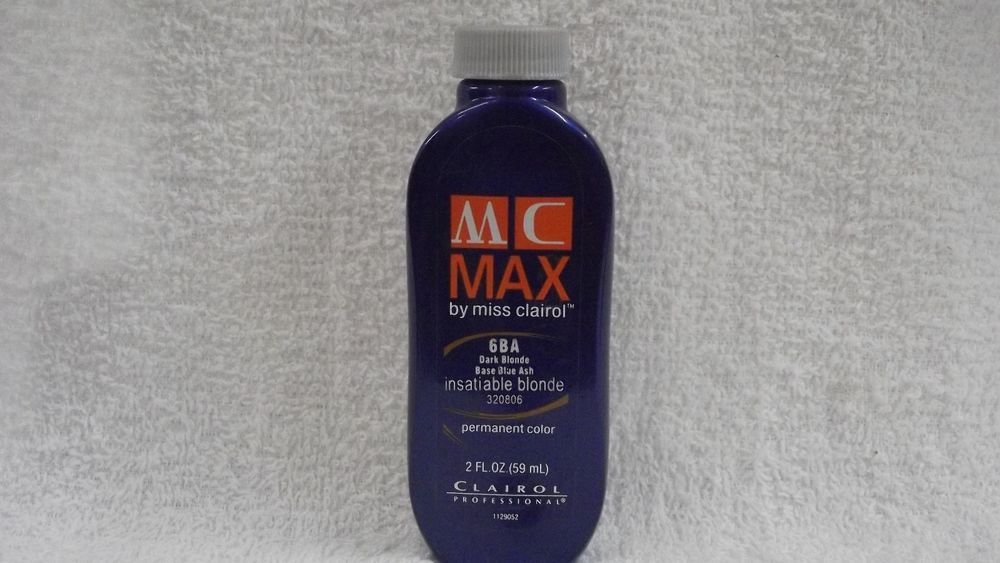 The Best Clairol Professional Mc Max Permanent Hair Color By Miss Clairol 2 Fl Oz Ebay Pictures