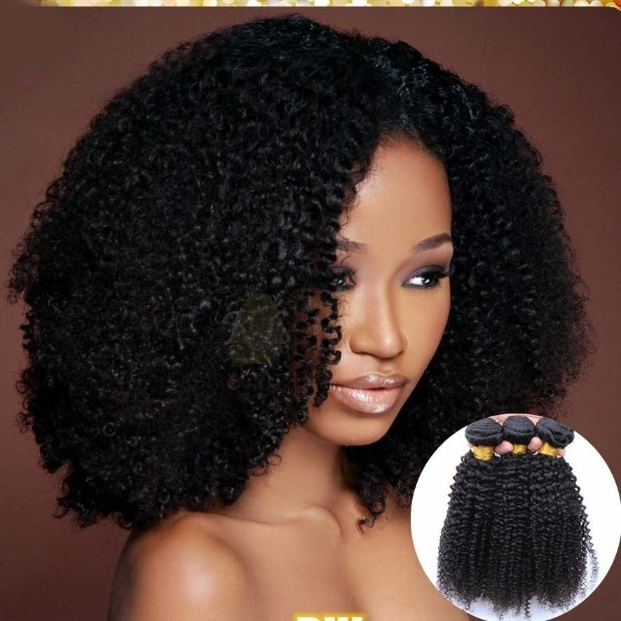The Best 1 Bundles Brazilian K*Nky Curly Human Hair Extensions 100 Pictures