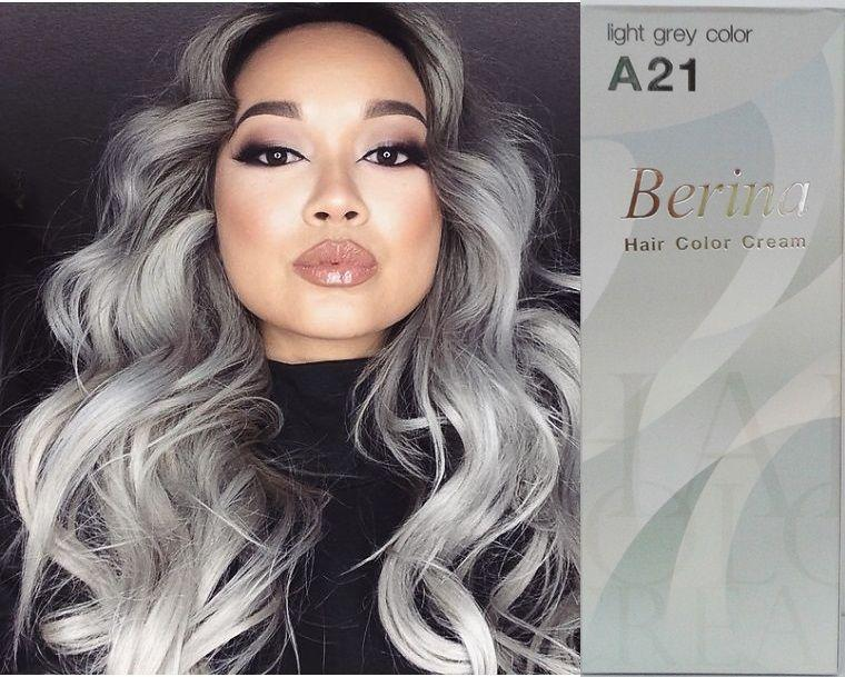The Best Berina Hair Colour Permanent Cream Hair Dye Light Grey Pictures