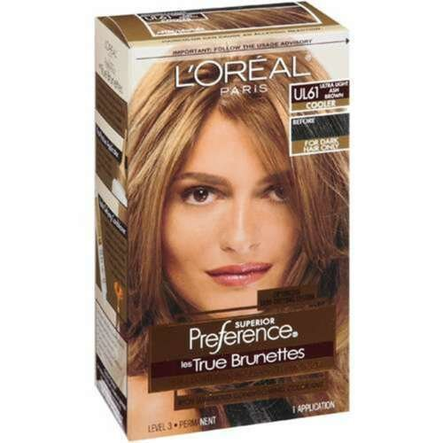 The Best Loreal Preference Hair Color Ul61Ultra Light Ash Brown Ebay Pictures