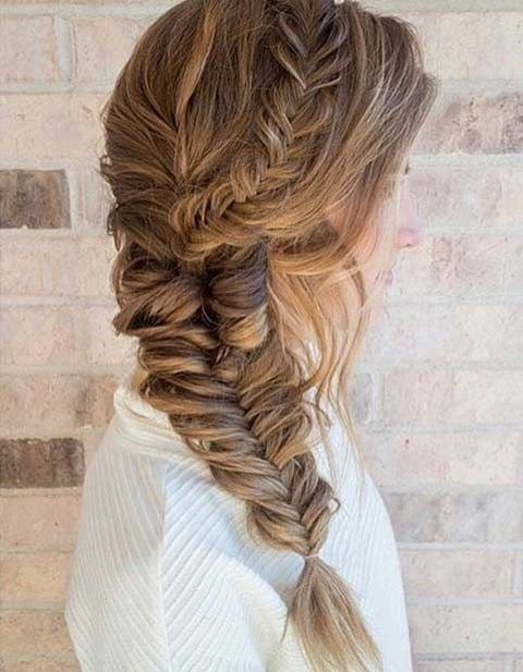 The Best 34 Elegant Side Swept Hairstyles You Should Try Pictures