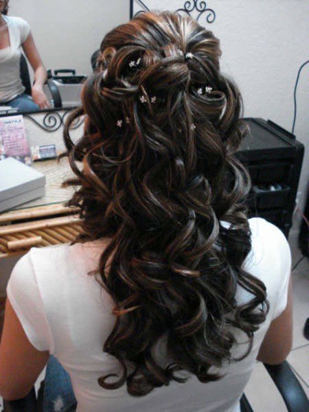 The Best Wedding Bridal Hairstyles For Long Hair My Bride Hairs Pictures