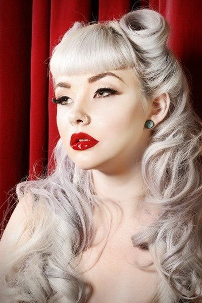 The Best 15 Pin Up Hairstyles Easy To Make Yve Style Com Pictures