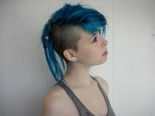 The Best Undercut Girl On Tumblr Pictures