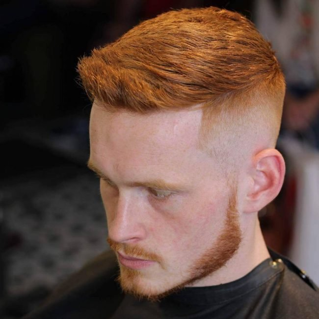 The Best Red Hairstyle For Men Bentalasalon Com Pictures