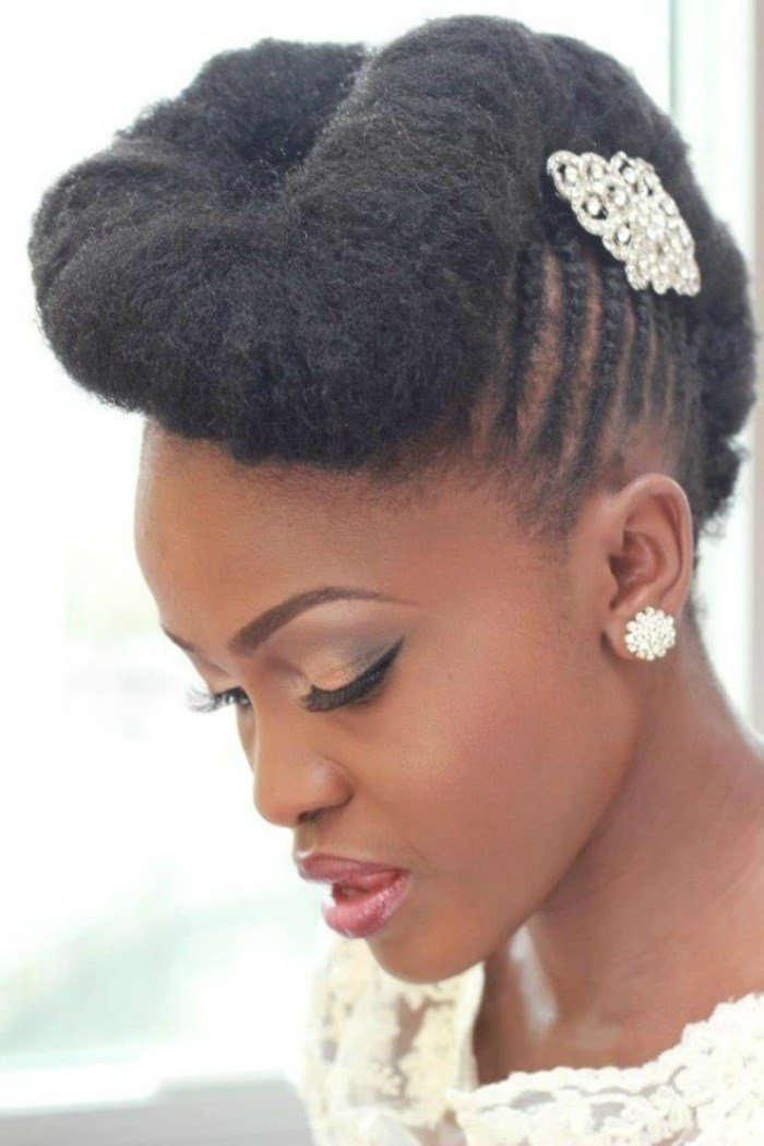 The Best 7 Wedding Styles For Natural Hair Brides To Be Pictures