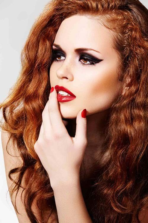 The Best Chestnut Hair Color With Cinnamon Highlights Gorgeous Pictures